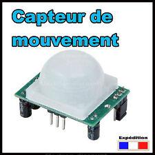 SR501#  Capteur de mouvement HC SR501 Arduino Raspberry