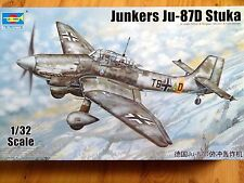 Trumpeter 1:32 Junkers Ju-87D Stuka German Aircraft Model Kit
