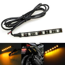 6 LED Mini Strip LED Car Auto Motorcycle Turn Signal Lights Strip 12V Universal