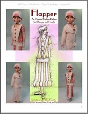 """Flapper"" Fashion Pattern - 1920's Inspired Design for Ellowyne and Amber!"
