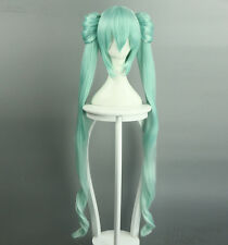 new V home Hatsune miku green gradient fruit harvest moon moon cosplay wig