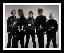 BEADY EYE AUTOGRAPHED SIGNED & FRAMED PP POSTER PHOTO