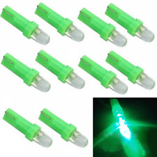 New 10Pcs T5 12V LED Green Auto Car Wedge Dashboard DASH Gauge Light Lamp Bulb