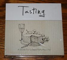 Cheese Tasting Party Game Kit NEW in Shrink - From Perfect Partners