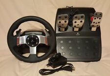 Logitech G27 Upgraded with Brass Encoder Wheel and Pedal Only- PS3 PC Racing Sim