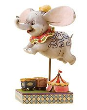 Disney Traditions Faith In Flight Flying Dumbo Resin Figurine Statue Gift Box