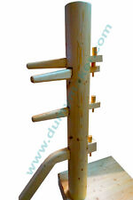 Wing Chun wooden dummy with closed base color natural