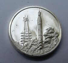 Franklin Mint Sterling Silver Mini-Ingot: 1958 America's First Satellite