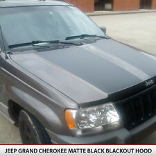 Blackout Hood Decal Matte Black w/ install kit Fit: Jeep Grand Cherokee 99-04 WJ