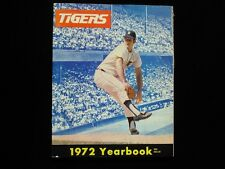 1972 Detroit Tigers Official Yearbook - VG-EX