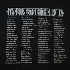 NEW THE STREETS OF THE BRONX NEW YORK NYC LITTLE ITALY TEE T SHIRT Sz Mens L