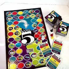 CAN YOU NAME 5? Party Board Game by Endless Games Team Play Tons Of  Family FUN