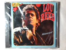 LOU REED Mistrial cd ITALY UNIQUE LIVE SIGILLATO SEALED VERY RARE!!!
