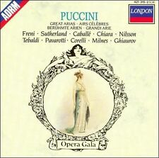 Puccini: Great Arias (CD, London)
