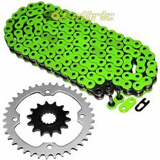 Green O-Ring Drive Chain & Sprockets Kit Fits YAMAHA RAPTOR 700R YFM700R 06-14