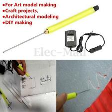 10CM Electric Styrofoam Cutter Hot Wire Styro Foam DIY Cutting Pen + AC Adapter