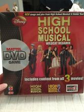 Disney High School Musical 1 2 3 Wildcat Megamix Mattel DVD Game 6+ 2-6 Players