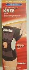 New 2 packs  Mueller 6455 Adjustable Hinged knee brace one size left or right