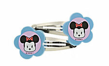 "NWT DISNEY MINNIE MOUSE Hair Clips Barrettes from ""go minnie"" line"