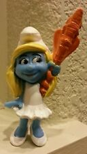 2013 McDonalds Smurfs 2 Happy Meal Smurfette # 2 toy Cake topper collector item*