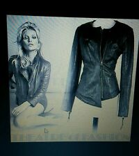 Kate Moss Topshop Real Leather Jacket  sz 10