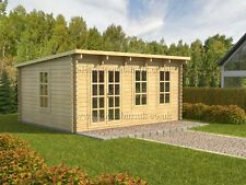 SALE! log cabin ATLANT  5 x 4m in  44 mm walls