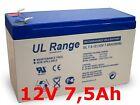 LSLA7-12 Akku Ersatzakku Batterie 12V 7Ah 20HR 7,2Ah 7,5Ah 12Volt Wartungsfrei