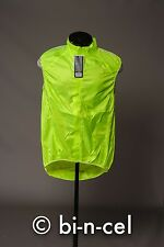 NWT ENDURA PAKAGILET HI-VIS YELLOW 2XL CYCLING GILET VEST MSRP $65.00