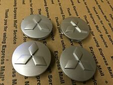 NEW MITSUBISHI SET OF 4 CENTER WHEEL WHEELS RIM RIMS CAP HUB CAPS 59MM GRAY