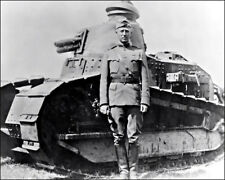 George Patton Photo 8X10 - 1918 WWI General Tank Army  Buy Any 2 Get 1 FREE