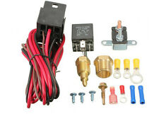 210 DEGREE ELECTRIC FAN THERMOSTAT TEMPERATURE SWITCH 60 AMP RELAY INSTALL KIT