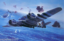 Model Airplane Plans (UC): Bristol Beaufighter X Scale for two .15s (2.5cc)