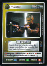 STAR TREK CCG MIRROR MIRROR RARE CARD FONTAINE