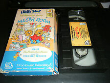 The Berenstain Bears and the Messy Room (VHS, 1986)