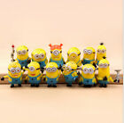 Despicable Me 2 Movie Character Minions Doll Toy Cute Figures set of 12pcs D20