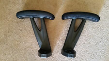 Office Chair Padded  Armrests Pair Brenton Studio Althea OfficeMax OfficeDepot