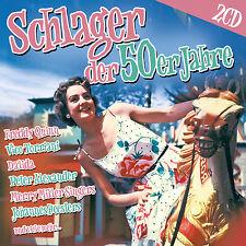 CD Schlager der 50er Jahre von Diverse Interpreten    2CDs