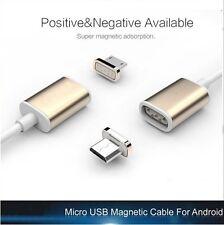 Magnet Ladegerät Micro USB Ladekabel Adapter für Android Samsung LG