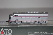 N Scale Kato Burlington F3A Diesel Locomotive #9960C