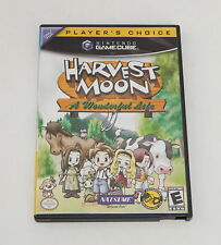 Nintendo Game Cube Player's Choice Harvest Moon A Wonderful Life Working R11531