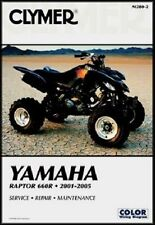 CLYMER Repair Service Manual Yamaha Raptor 660R 2001-2005 M280-2