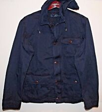 Polo Ralph Lauren Big and Tall Mens Navy Blue Outdoors Sportsmans Jacket NWT XLT