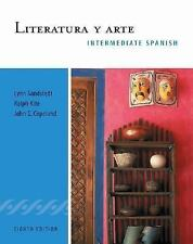 Literatura y arte: Intermediate Spanish Series (World Languages), Copeland, John