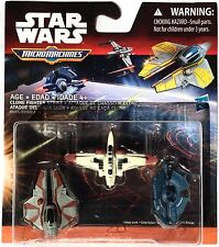 Star Wars Clone Fighter Strike Micro Machines ARC-170 Jedi Starfighter Droid Tri