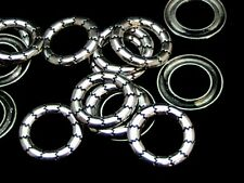 15 x 17mm Tibetan Silver Closed Connector Jump ring Linking Ring H177