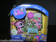 Littlest Pet Shop Postcard Pet ~ Deer/Fawn  #1356 ~~~ RARE ~VHTF ~~~ New