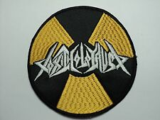 TOXIC HOLOCAUST  ROUND  EMBROIDERED PATCH