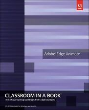 Adobe Edge Animate Classroom in a Book TRAINING WORKBOOK FROM ADOBE SYSTEMS w/CD