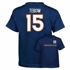 ($20) REEBOK Denver Broncos TIM TEBOW nfl Jersey Shirt YOUTH KIDS BOYS (L-LARGE)