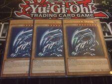 Yu-Gi-Oh! 3x BLAUÄUGIGER WEISSER DRACHE CT13-DE008 Deutsch